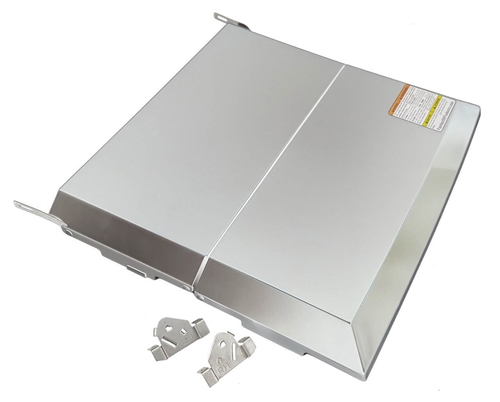 Dometic 54102 Bi-Fold Cooktop Cover - Stainless Steel