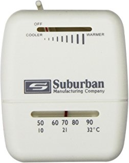 Suburban 161154 Single Stage Heat Only Rv Thermostat