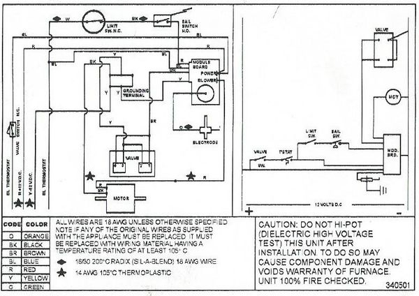 [FPWZ_2684]  Suburban 520832 Fan Control Wiring Kit For Furnace | Camper Furnace Wiring |  | RVupgrades