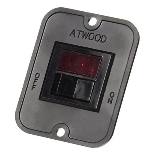 Atwood 91959 Water Heater Power Switch - Black