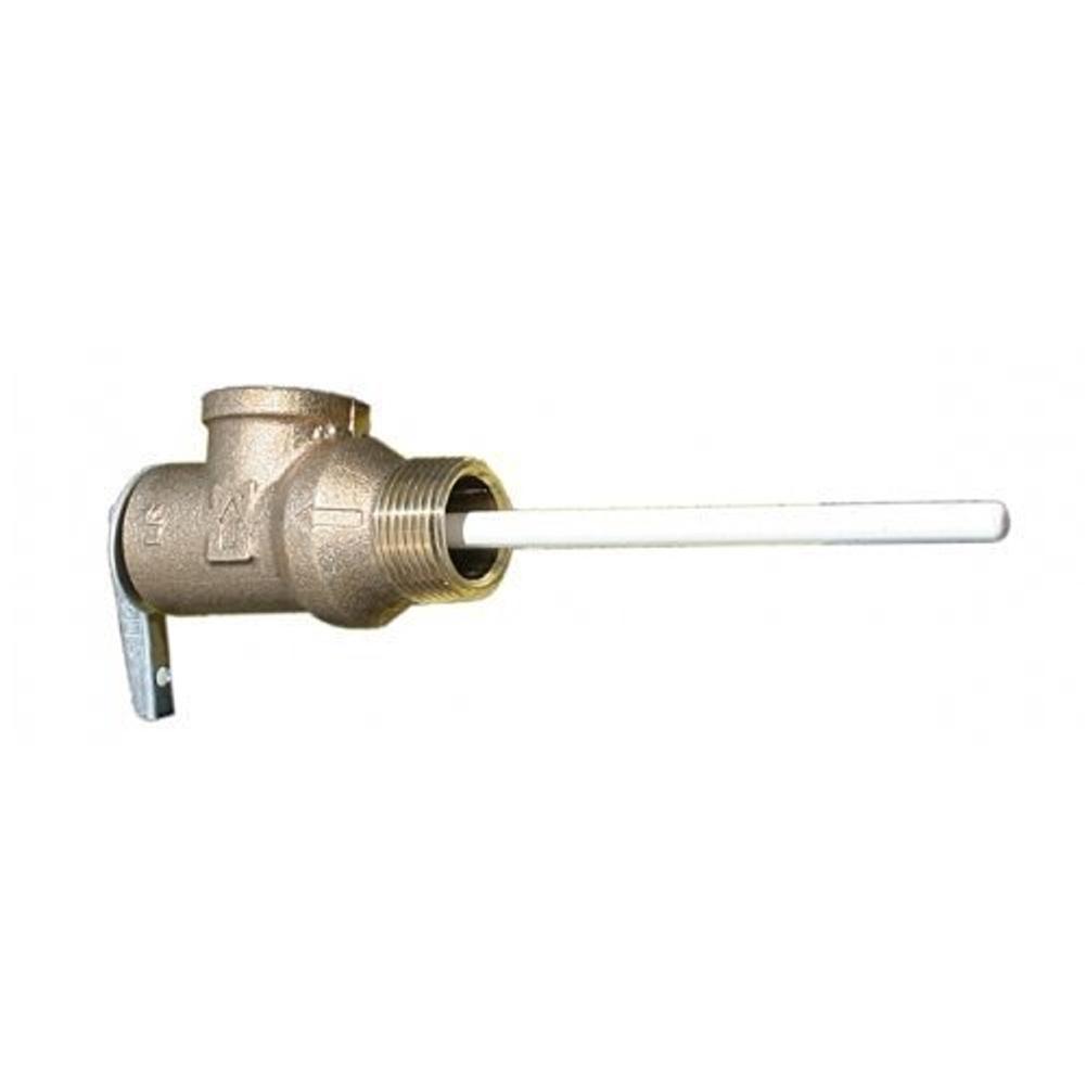 Suburban 161230 RV Water Heater Temperature and Pressure Relief Valve - SW  & V Models