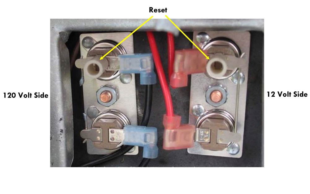 Suburban 520788 Thermostat 140 Degree Water Heater Switch