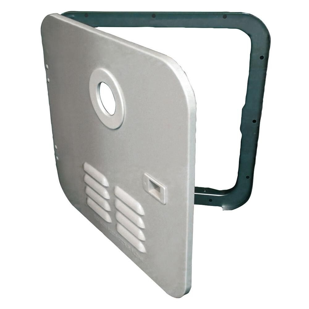 Girard 2GWHDAS10 Tankless Water Heater Polar White Door
