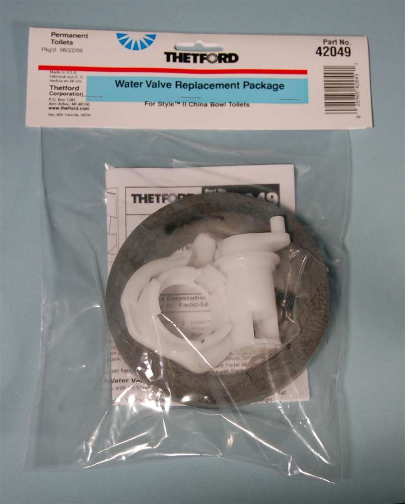Thetford 42049 Aqua Magic Style Ii Water Valve Replacement Toilet Parts Breakdown Together With Rv Diagram