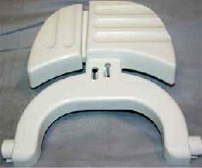 Aqua Magic IV Foot Pedal, White