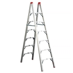 GP Logistics SLD-D7 Double Sided Folding Ladder - 7'