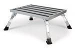 Camco 43676 RV Adjustable Aluminum Platform Step