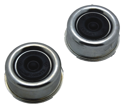 AP Products 014-122064-2 Wheel Bearing Dust Caps For 5200/6000 Lb Axles
