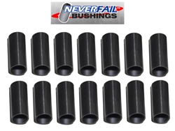 Never-Fail spring and shackle bushing, Double Axle Kit