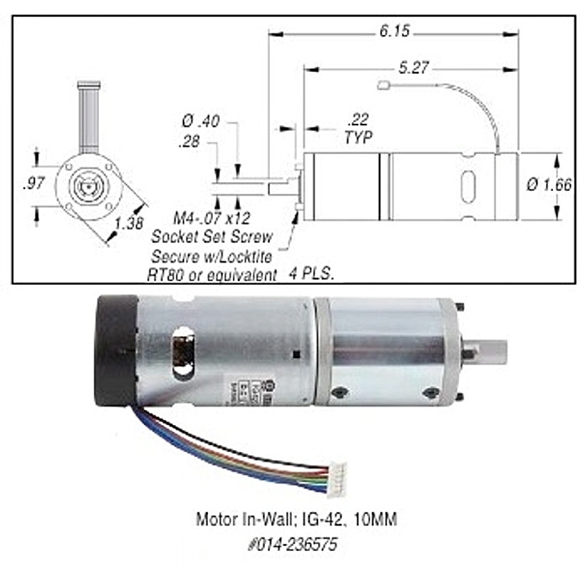 kwikee step motor replacement