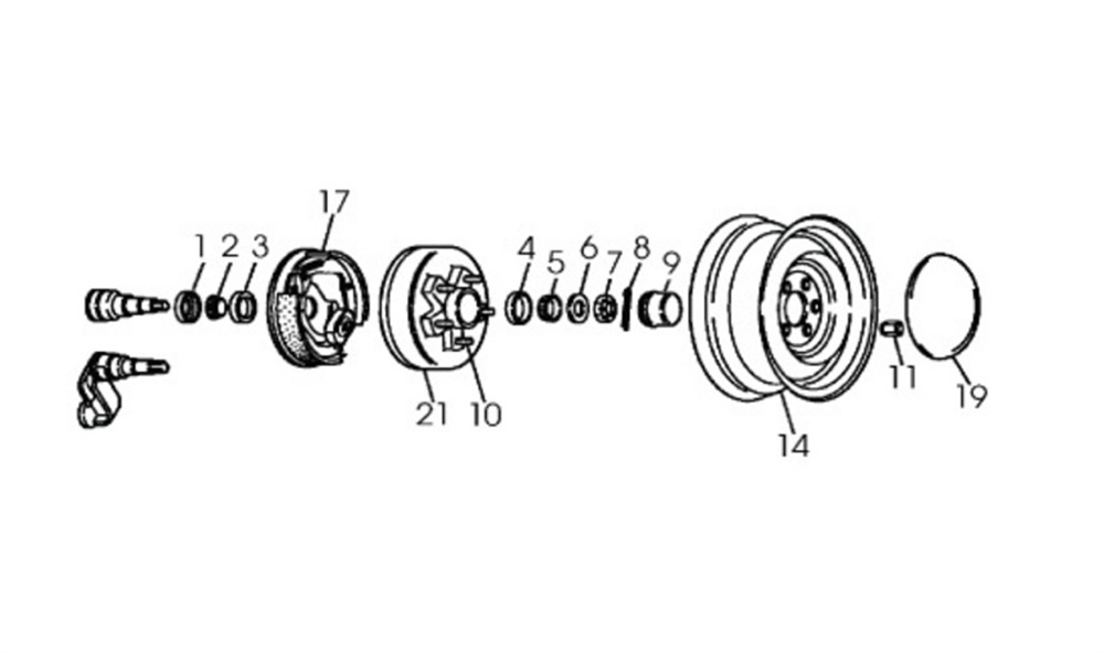Dexter Axle 005-023-00 D Spindle Washers