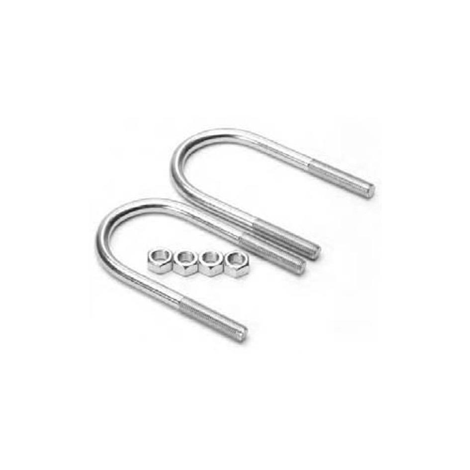 dexter axle k71-293-00 u-bolts  nuts  8 u0026quot  tube