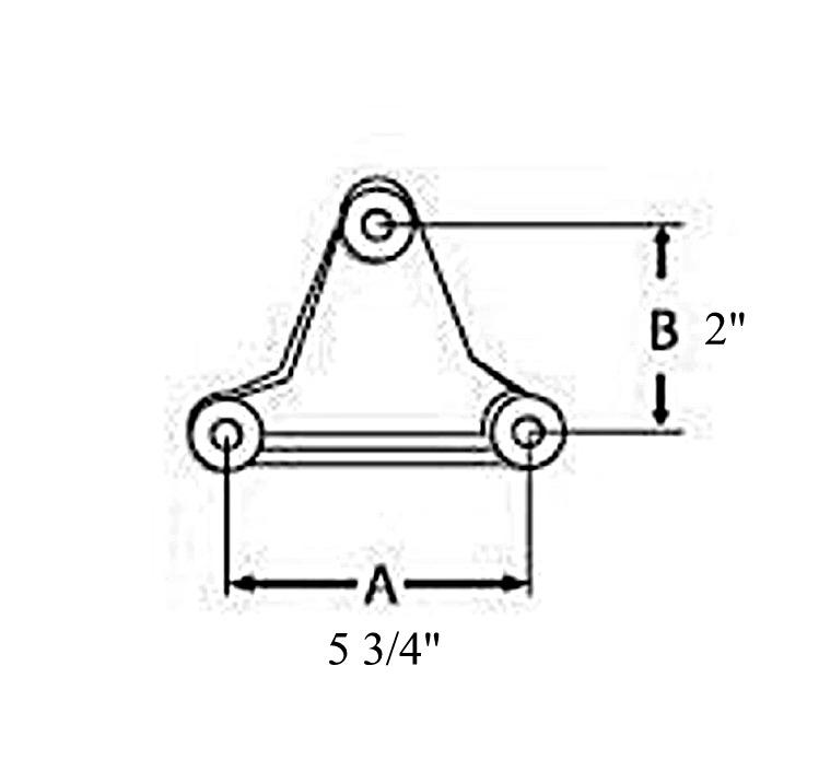 Dexter Axle K71-359-00 Heavy Duty Tandem Axle Suspension Kit