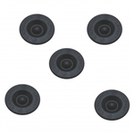 AP Products 014-122065-5 Wheel Bearing Dust Cap Rubber Plugs - Set of 5