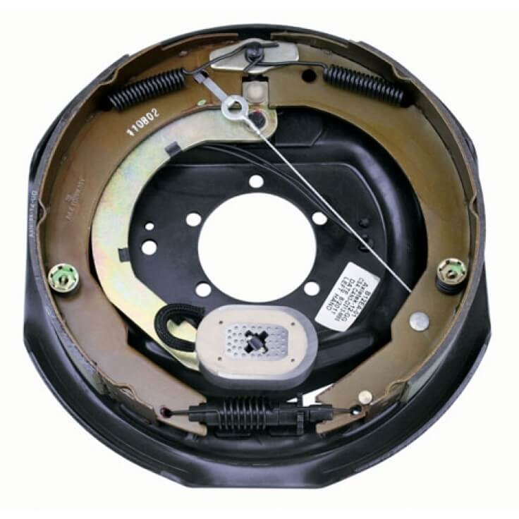Lippert 296651 12 Self Adjusting Electric Brake Assembly Left Wiring Trailer Magnets