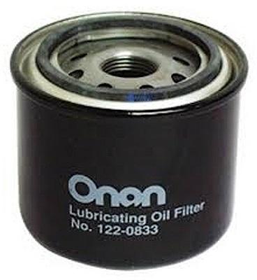 Onan 122-0833 QD & HQD Generator Oil Filter