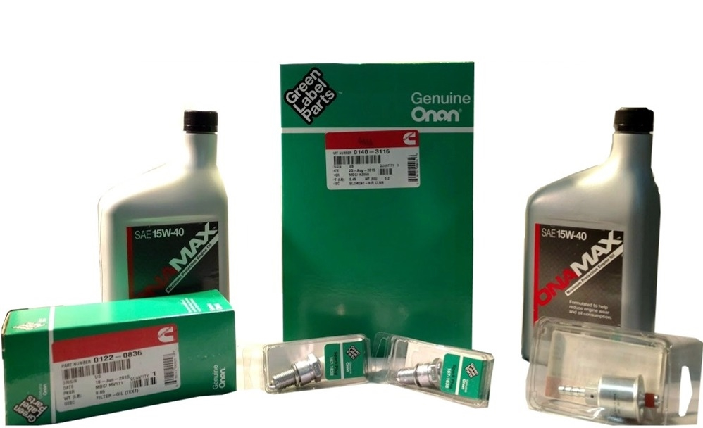 Onan A049e501 Generator Maintenance Kit For Hgjab Gas