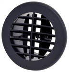 Valterra A10-3353VP Air Vent With Damper - Black - 4""