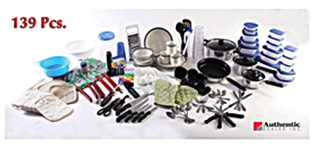 Authentic Outdoor RV Cooking Set