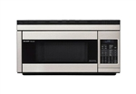Sharp R1874 Over The Range Convection Microwave Oven Stainless Steel