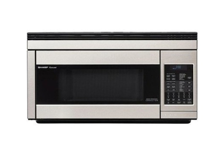 Sharp R1874 Over The Range Stainless Steel Convection Microwave