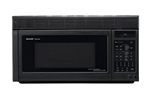 Sharp R1875T Over The Range Convection Microwave Oven Black