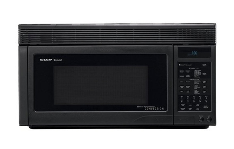 Range Convection Microwave Oven Black