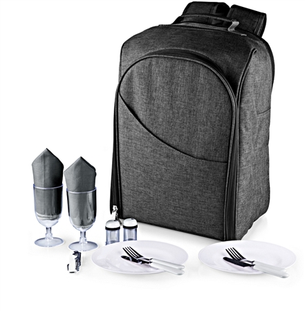 Picnic Time PT-Colorado Picnic Backpack - Grey