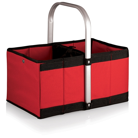 Picnic Time Urban Basket Collapsible Tote - Red