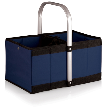 Picnic Time Urban Basket Collapsible Tote - Navy