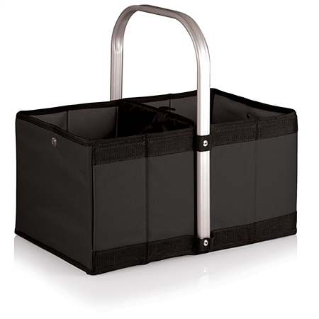 Picnic Time Urban Basket Collapsible Tote - Black