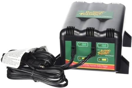 Battery Tender 022-0165-DL-WH 2 Bank Charging Station