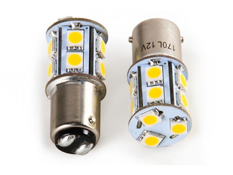2 1157 1076 12 LED Turn Signal Stop Light Bulb Lamp 12V V2K3