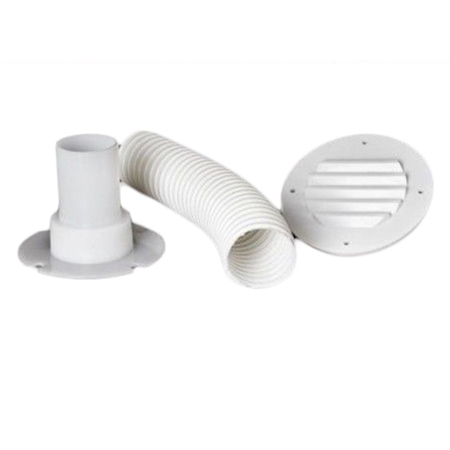 MTS Products 275 Battery Box Vent Accessory Kit, Off White
