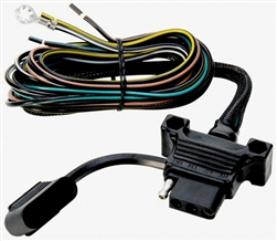 "Towing Solutions 48030 Endurance 4 Wire Flat Vehicle Side - 48"" Leads"
