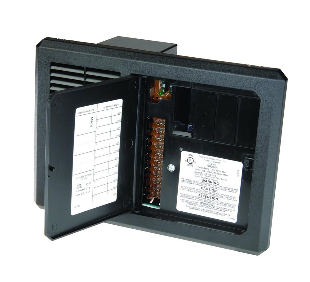 Intelli Power Converter Wiring Diagram Trusted Rv Progressive Dynamics Pd4045kv 45 Amp Inteli Panel Camper