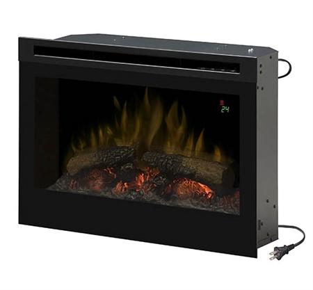 dimplex df2524l 25 quot in rv electric fireplace w logs