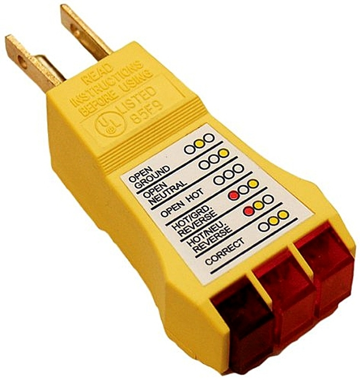 Prime Products 12-4061 AC Circuit Tester on
