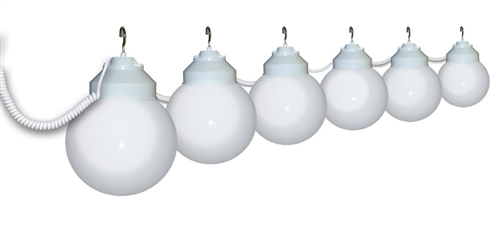 Polymer Products 16-01-00379 Globe Lights- White