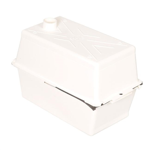 MTS Products 250 Large RV Battery Box - Colonial White