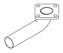 Onan 155-3439 Exhaust Elbow