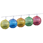 Prime Products 12-9004 Globe Patio Lights - Multi-Color