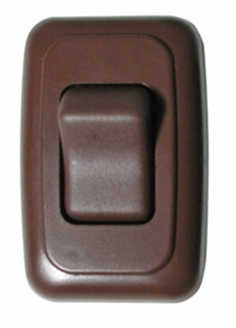 Diamond Group A-3118 Single Brown Contoured On/Off Switch