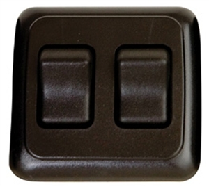 Diamond Group A-3215 Double Black Contoured On/Off Switch
