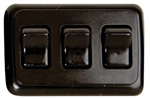 Diamond Group A-3315 Triple Contoured On/Off Switch - Black