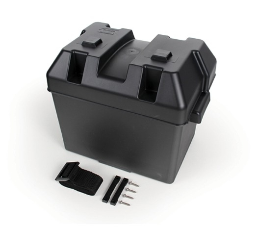 Heavy Duty Battery Box Camco 55362 Battery Accessories