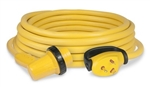 Marinco 30RPCRV GripLock 30 Amp Right Angle Locking Cordset - 30 Ft