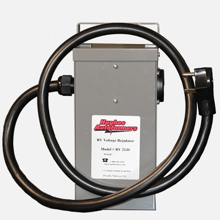 hughes autoformer rv2130 30 amp voltage booster