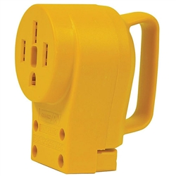 Camco 55353 Power Grip Replacement Receptacle - 50 Amp Female