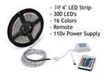 Rollumup 10' LED Light Strip with Remote